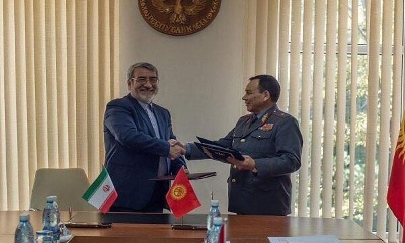 Иран и Кыргызстан договорились о сотрудничестве по вопросам безопасности
