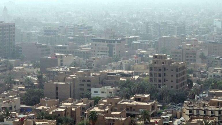 Ракетные удары в зеленой зоне Багдада недалеко от турецкого посольства