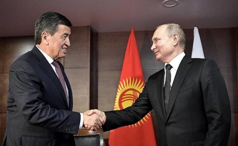 Президент Кыргызстана заявил, что отношения с Россией достигли новой высоты