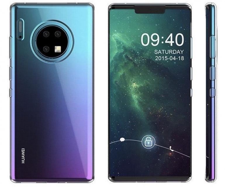 Huawei представляет флагманский смартфон серии Mate 30