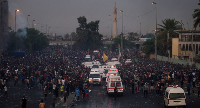 Число погибших в результате беспорядков в Ираке до 31 человека, почти 1200 человек, раненых