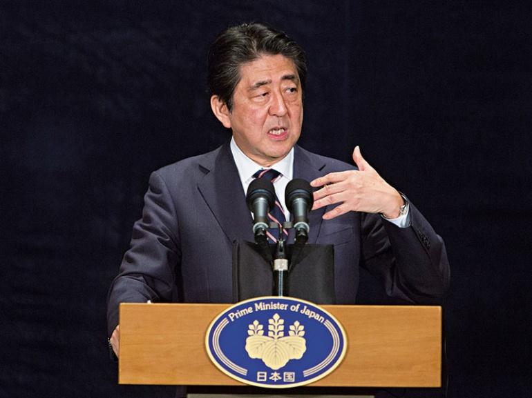Премьер-министр Японии Синдзо Абэ обещает реформировать систему социального обеспечения