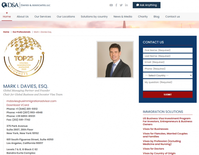 Davies and Associates, LLC